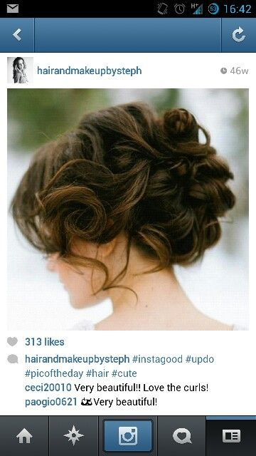 Wedding hair.... Yes yes yes!