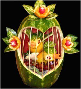 Watermelon Bird Cage