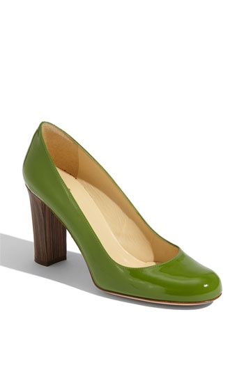Green green green!!!  (*like)