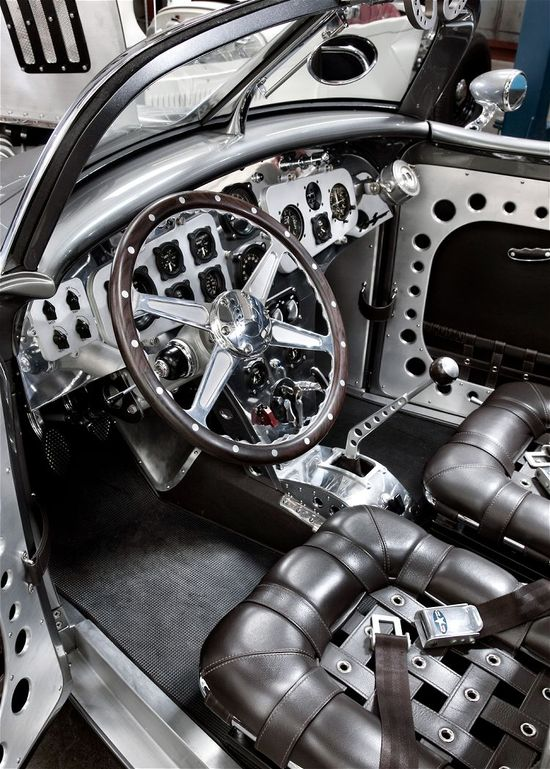 Absolutely Gorgeous Hot Rod Interior