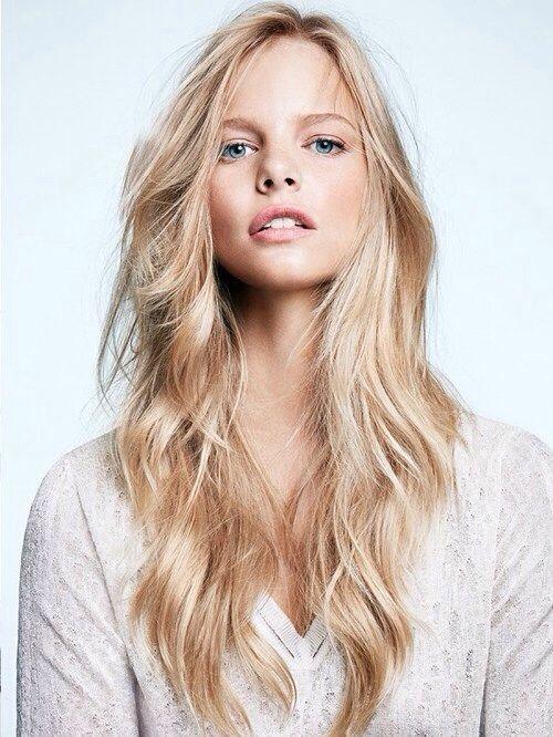 #hairstyle #women #beauty #model #blonde-pin it from carden