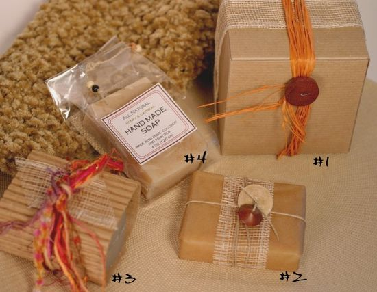 How to Wrap Soap