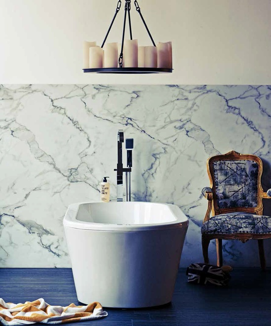 The Minimalist Store / Stop the water while using me / Orange and wild herb shower gel.  Styled by Erin Michael for Real Living  Real