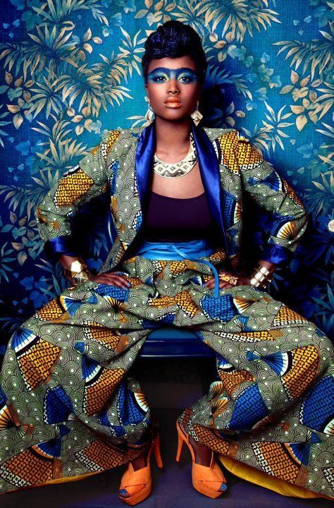 editorial, african fashion