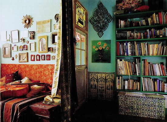 Moroccan Inspiration by High Fashion Home, via Flickr
