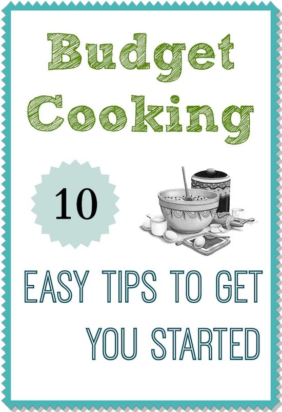 budget cooking tips