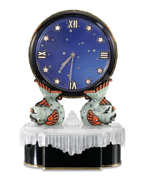 Cartier Art Deco Clock by Clive Kandel