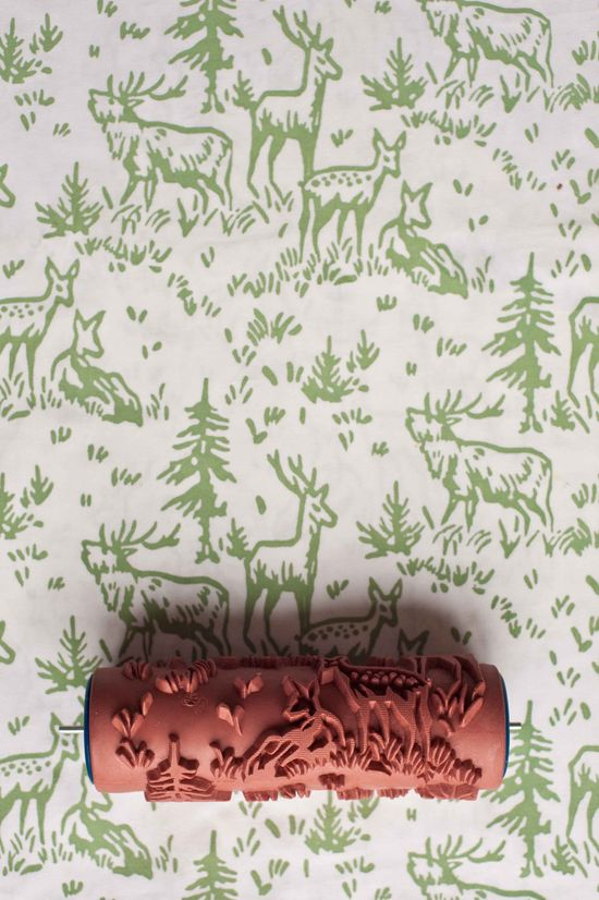 No. 6 Patterned #Paint Roller from The Painted House. £15.00, via Etsy. #decor #walls #home