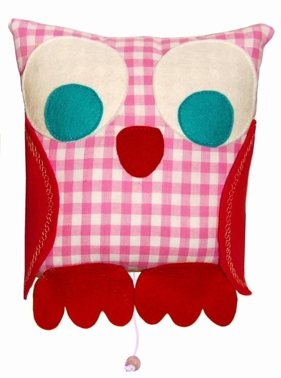 Handmade music owl for little girls