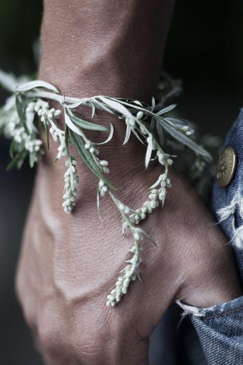 greenery bracelet