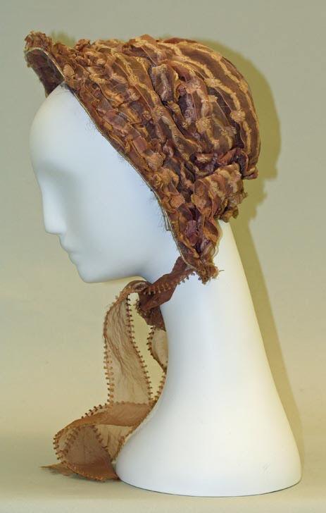 early 1850's bonnet