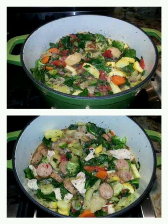 Vegetable stew from Better Health Naturally on facebook