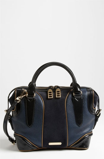 Burberry Prorsum Leather & Suede Tote