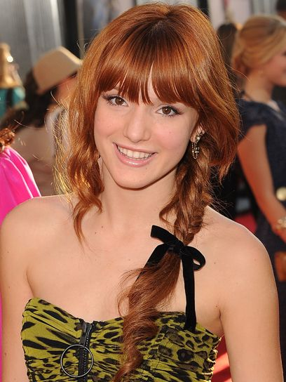 Bella Thorne's sweet, ribbon-adorned braid