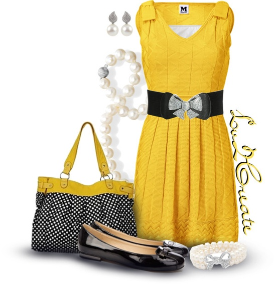 """Let's Do Yellow!"" by lv2create ❤ liked on Polyvore"