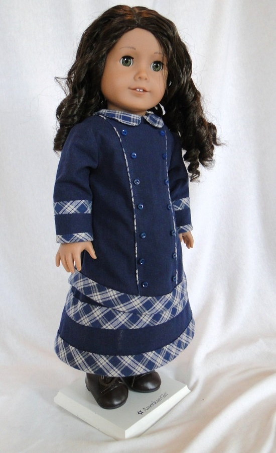Carrie's Dress for the American girl doll. $49.00, via Etsy.