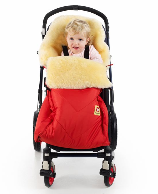WARMEST Stroller footmuff EVER!!!  Fareskind