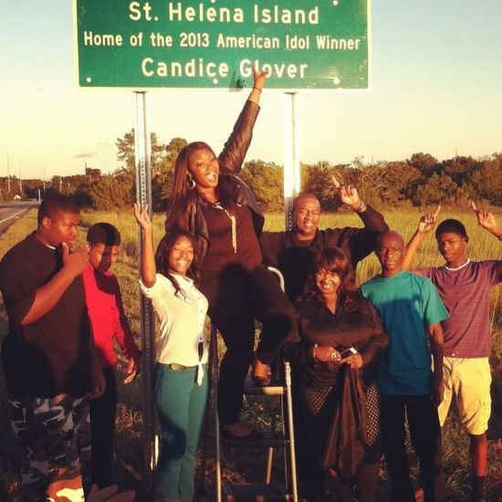 St. Helena Island, SC - home of 2013 American Idol Winner - Candace Glover