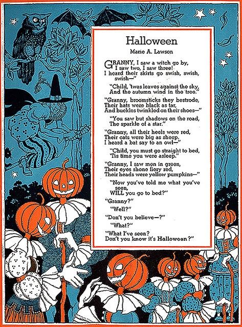 Hallowe'en poem