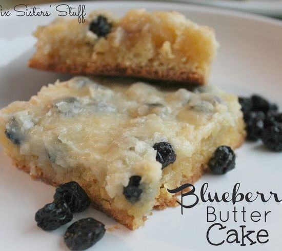 Blueberry Butter Cake Recipe