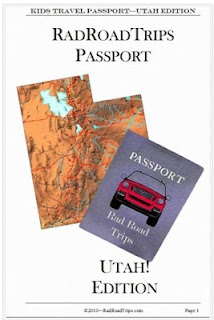 Utah Road Trip Passport