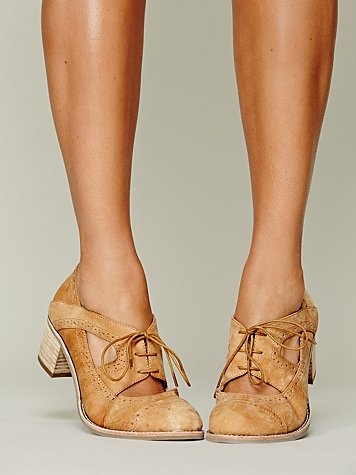 oxfords with cutouts.