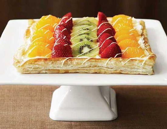 Beautifully Easy Fruit Tart Recipe  #recipe #fruit #tart #housetrends