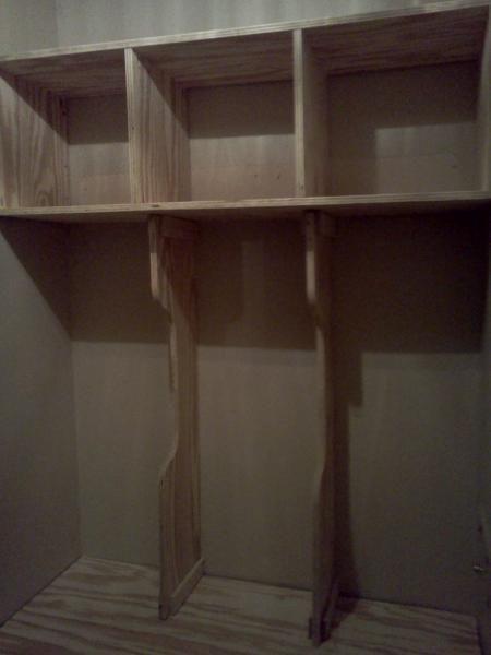 DIY Furniture : DIY Entry Storage