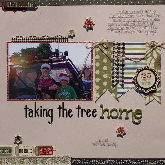 Taking the Tree Home - Scrapbook.com