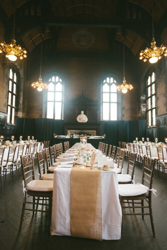 A stunning reception space.   Photography by zacxwolf.com, Floral Design by designsbyahn.com, Location acc-tutuconferenc...