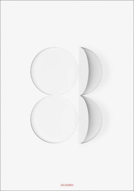 graphic design circle white 83