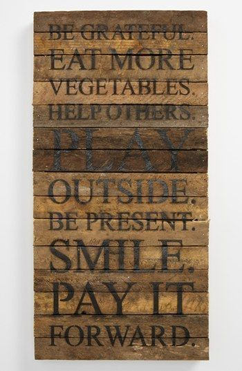 Good advice. 'Be Grateful' Wood Wall Plaque available at #best friend memories #friend #best friend memory #best
