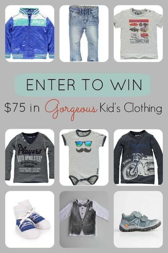 Win $75 in Gorgeous Kid's Clothing www.spaceshipsand...