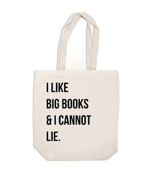 Canvas tote bag by Ex Libris Journals