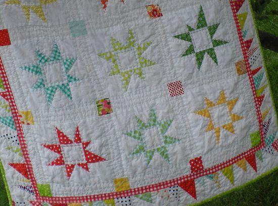 Molly Flanders Wonky Star Quilt