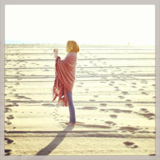 bundled up on the beach #LCLaurenConrad #Kohls