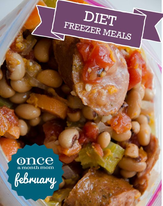 Diet February 2013 Freezer Menu