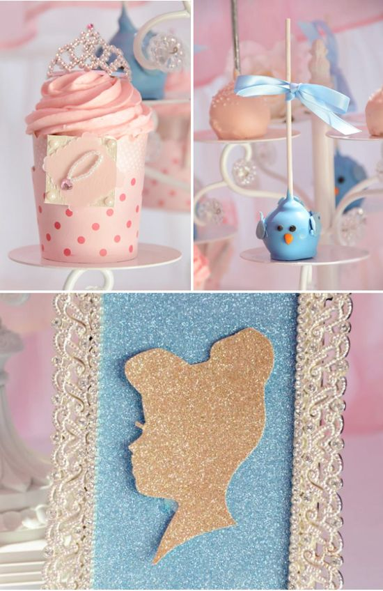 Cinderella themed birthday party via Karas Party Ideas KarasPartyIdeas.com