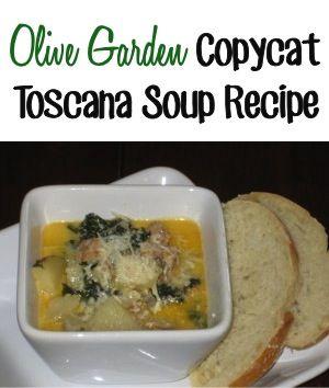 Olive Garden Copycat Toscana Soup Recipe