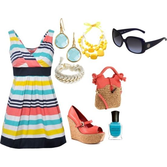 summer. i love #clothes for summer #summer clothes