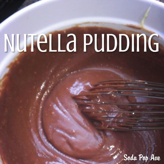 Nutella Pudding