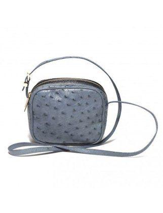 50 Dream Handbags: the row mini twin ostrich, $4,700 #handbags, #handbags galore, #purse, #shoulder bag, #evening bag, #designer bags, #valentino bags, #party bags.