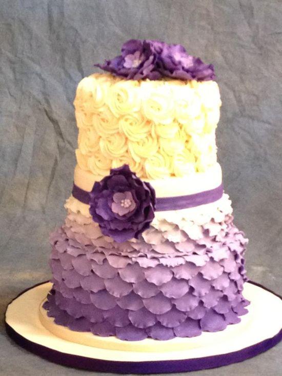 wedding cake from z cakes