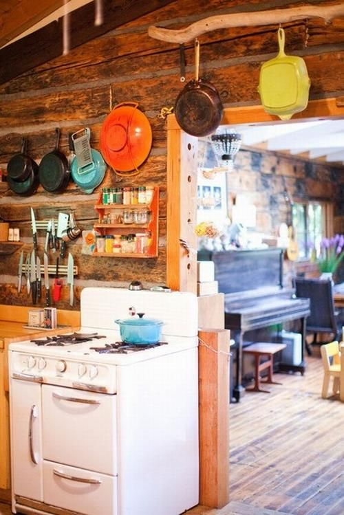 Colorful Wooden Kitchen Designs ideas