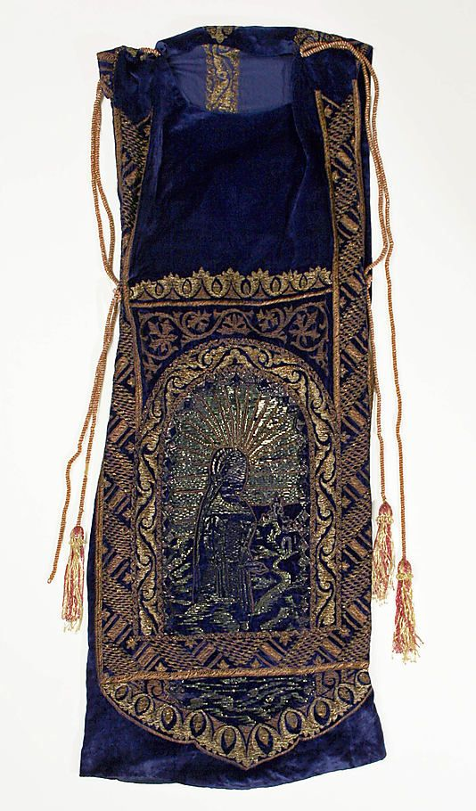 Callot Soeurs Dress - 1922-23 - by Callot Soeurs  (French, active 1895-1937) - Silk, glass, metallic threads and cellophane - The Metropolitan Museum of Art - @~ Mlle