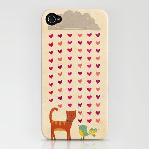 Cute print for an iPhone case.