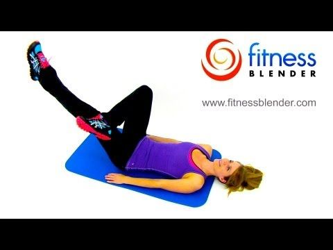 Abs and Cardio Workout - Bodyweight Interval Cardio and Abs Workout