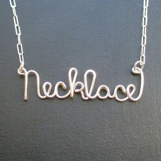 Necklace necklace!!