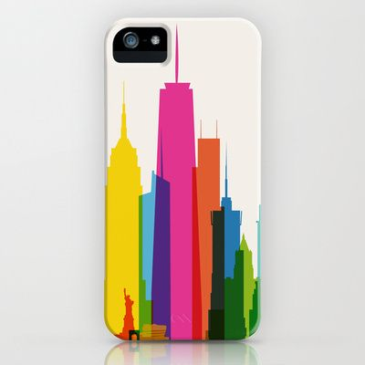 Shapes of NYC iPhone Case by Yoni Alter