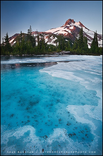 Summer Comes Late ~ Mt. Jefferson, Mt. Jefferson Wilderness, Oregon Cascades